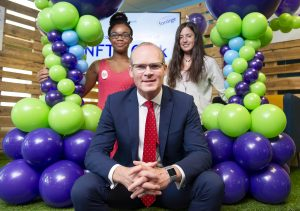 Tániste Simon Coveney T.D. has launched the Foróige NFTE Programme in Cork