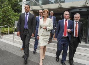 The Fine Gael Leaders' Lunch at the Clayton Silver Springs Hotel Cork
