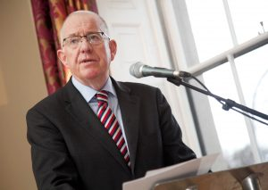 Minister Charlie Flanagan signs the Commencement Order for Intoxicating Liquor (Breweries and Distilleries) Act 2018