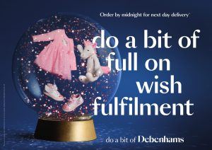 Debenhams champions the success of thoughtful gift givers with new Christmas campaign
