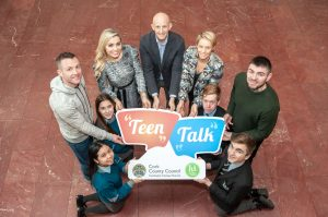CORK COUNTY COUNCIL LAUNCHES 'TEEN TALK' EVENT SERIES