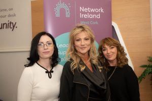 Network Ireland West Cork Hosts FM104's Margaret Nelson in AIB, Bandon