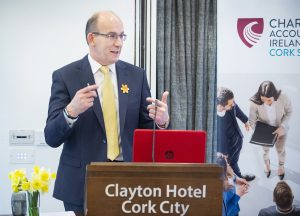 The Cork Society today held the Irish Cancer Society's annual breakfast for Daffodil Day