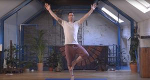 Namaste! Dublin GAA Star & Yoga Instructor,  Michael Darragh Macauley, the Face of New Yoga Exercise DVD for People with Lung Fibrosis
