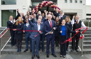 Clayton Hotel Silver Springs at the cutting of the ribbon ceremony to mark the completion of a €2 million refurbishment