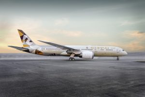 Etihad Airways introduces Boeing 787-9 dreamliner on Dublin route and increases frequency during summer peak