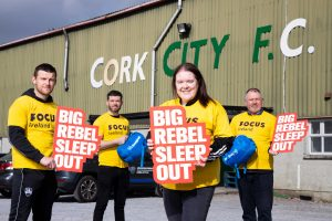Be a REBEL, Sleep Out for FOCUS Ireland